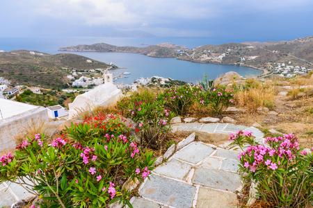 ios: Spectacular coastline, Ios island, Cyclades, Greece.