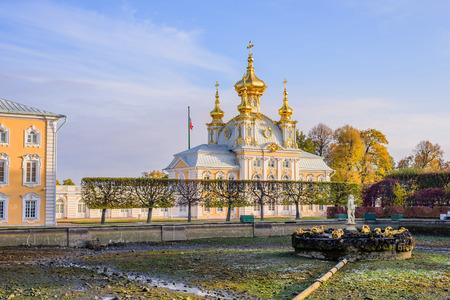 peterhof: Grand Peterhof Palace, Peterhof, Russia.