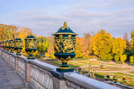 peterhof: Peterhof Park in the autumn, Peterhof, Russia.
