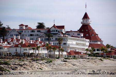 Coronato Hotel on Coronado Island in Southern California