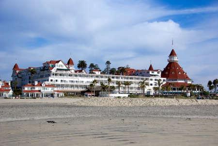 Coronado Hotel on Coronado Island in Southern California