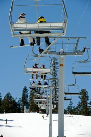Ski Resort in Lake Tahoe California Stock Photo - 3737725