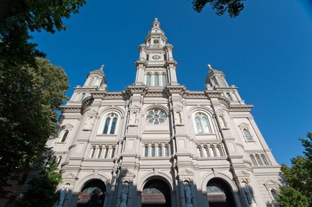 Cathedral of the Blessed Sacrament located in Sacramento California