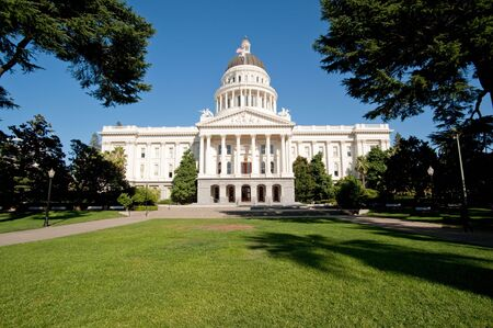 Sacramento California state capitol photo