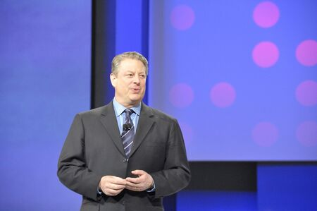 April 11th, 2008. San Francisco California. RSA Conference held at Moscone Center. The RSA conference is major conference for Information Security Professionals. Al Gore was speaking about Green Technologies. Redactioneel