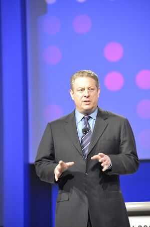 rsa: April 11th, 2008. San Francisco California. RSA Conference held at Moscone Center. The RSA conference is major conference for Information Security Professionals. Al Gore was speaking about Green Technologies. Editorial