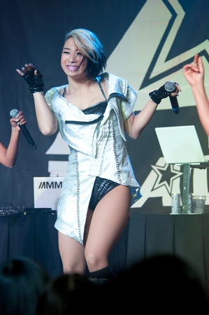 yup: LINCOLN, CA - February 24: K-Pop group Blush  performs at Thunder Valley Casino Resort in Lincoln, California on February 24, 2012 Editorial