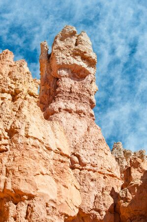 bryce canyon: Unique rock formations in Bryce Canyon located in Utah, United States.