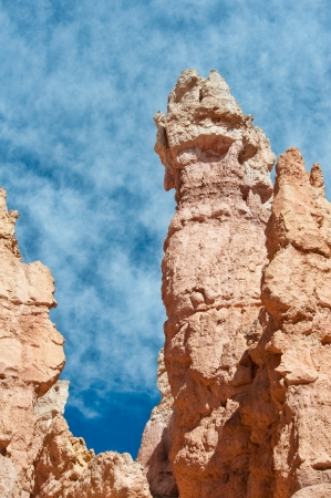 Unique rock formations in Bryce Canyon located in Utah, United States.