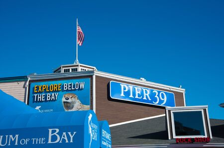 San Francisco, CA - February 03: Pier 39 is one of San Franciscos most popular tourist attractions