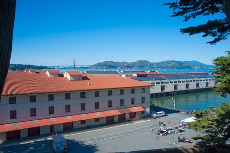 San Francisco, CA - February 03: Fort Mason Golden Gate National Recreation Area and home to Fort Mason Center for Arts & Culture
