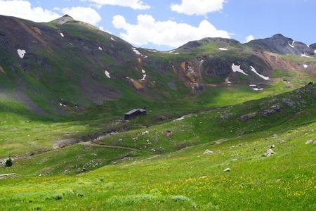 wheeling: High Mountain valley