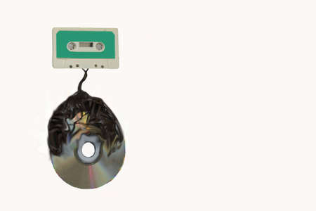 Audio cassette to compact disk tranfer odysee