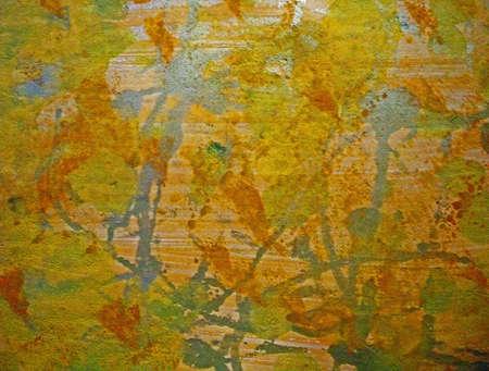 orange,yellow,blue abstract plaster look Zdjęcie Seryjne