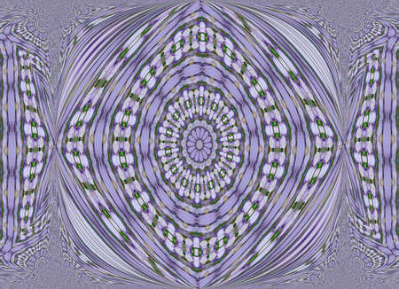 purple abstract with an Aztec or Ancient World design Stock fotó - 4871333