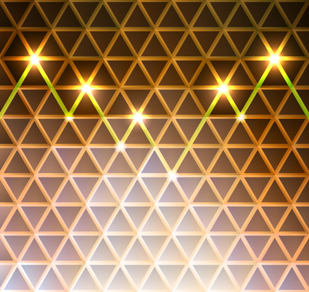 Abstract triangle pattern background vector illustration. Saved in EPS 10 with transparencies. Hi-res jpg file included 5000x4700. Illustration