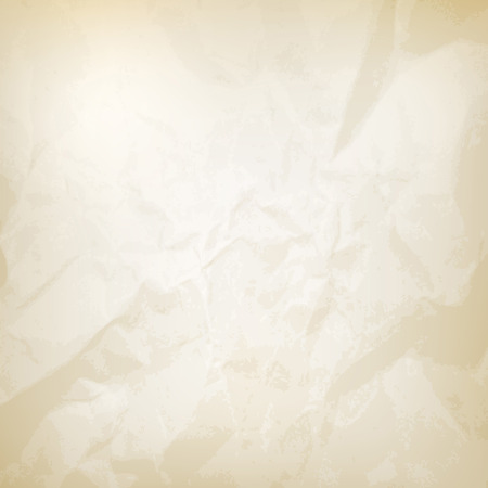 wrinkled paper texture vector saved in eps 10 file with 1 transparent object