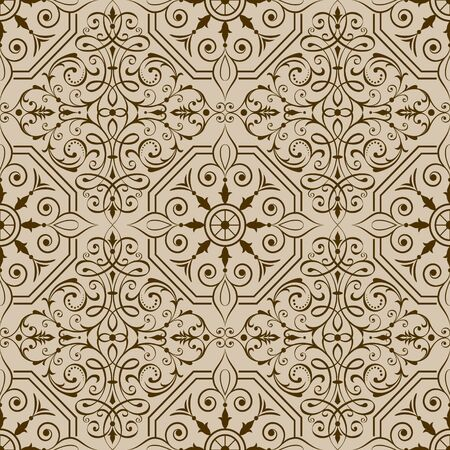 Seamless repeating pattern vector illustration. Saved in EPS 8 file. Well constructed for easy editing. Hi-res jpeg file included 4000x4000. Just drop this into your swatches palette AI then fill your shapes with it.