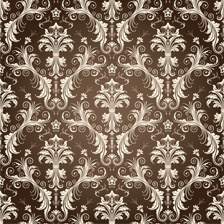 extravagant: Seamless repeating pattern vector illustration. Saved in EPS 8 file format fully editable. Just drop the pattern into your swatches palette AI then fill your shapes with it, seamlessness is guaranteed. High res jpg file included 4000x4000. Illustration