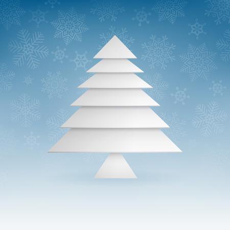 クリスマス背景イラスト。