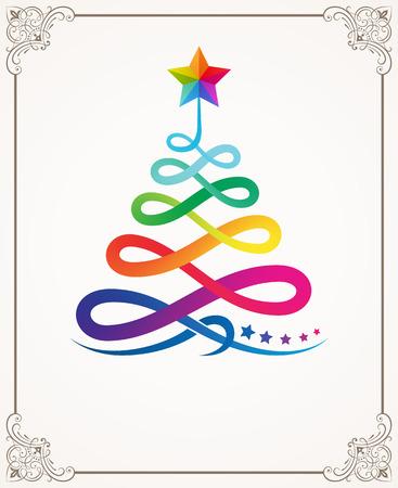 bordure de page: vecteur de décoration de Noël illustration.