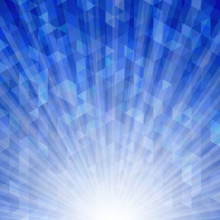 saved: Abstract geometric background with sunburst light effect. Saved with transparencies. Hi-res jpeg file included 4000x4000.
