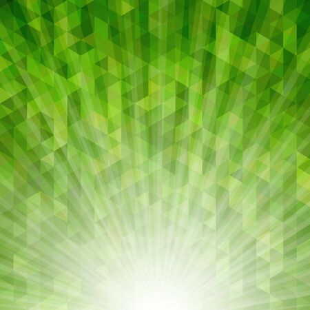 Abstract geometric background with sunburst light effect. Saved  with transparencies. Hi-res jpeg file included 4000x4000.