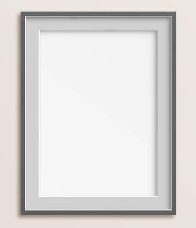 シンプルでエレガントな空白のフレーム ベクトル イラスト。透明で保存されます。 高解像度 jpeg ファイルは、5000 × 4300 を含まれています。  イラスト・ベクター素材