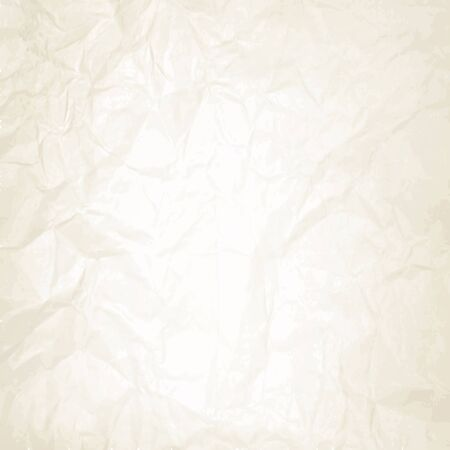 Wrinkled paper texture illustration