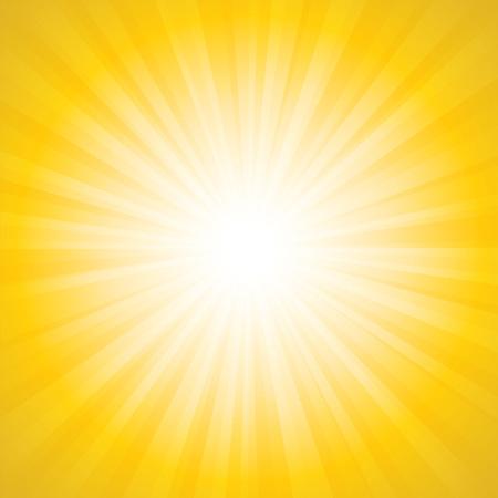 Sunbeam background illustration