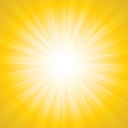 the energy center: Sunbeam background illustration