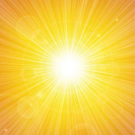 Sunshine background vector illustration. Vectores