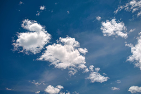 Beautiful white clouds and blue sky Stok Fotoğraf - 64313746