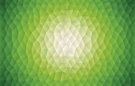 Green Radiance Geometric Background vector illustration. Saved in EPS 10 with no effect or transparencies.