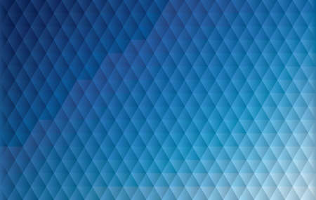 Blue geometric/triangular background vector illustration. 일러스트