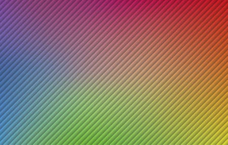 Colorful Striped background vector illustration.