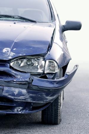 auto glass: Car accident