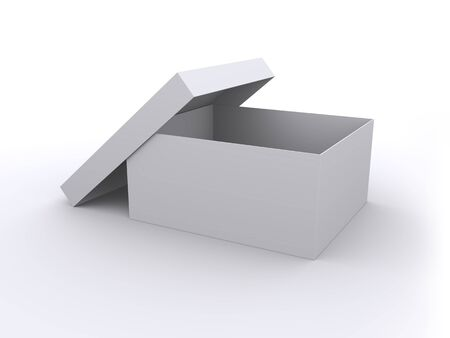 Empty open box Stock Photo - 8766745