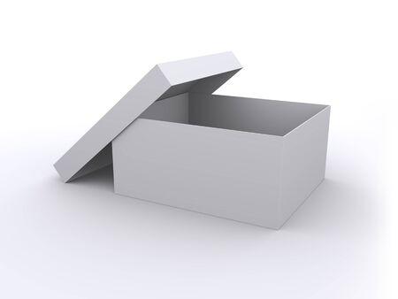 Empty open box Stock Photo - 8766745