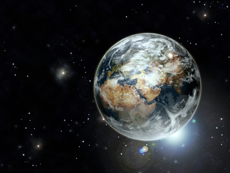 appear: Planet earth Stock Photo