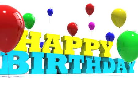 Happy birthday sign photo