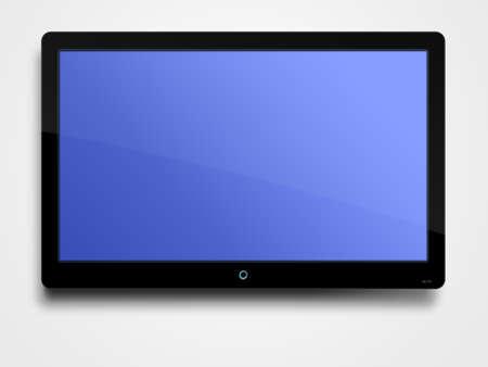 Flat screen LCD photo
