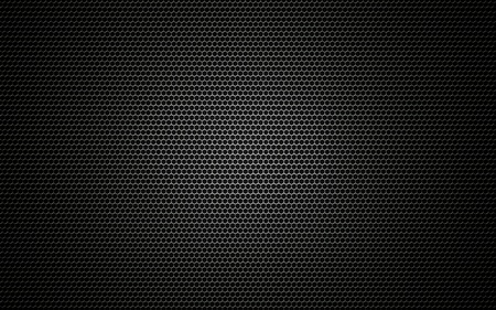 black metallic background: Speaker grille texture