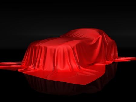 New car presentation Stock Photo - 9123057