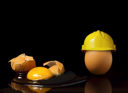 construction safety: Safety first concept