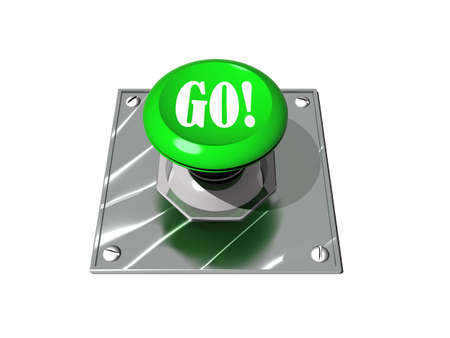 Go button Stock Photo - 9524329