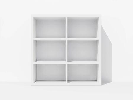 Empty bookshelf Stock Photo - 9524352