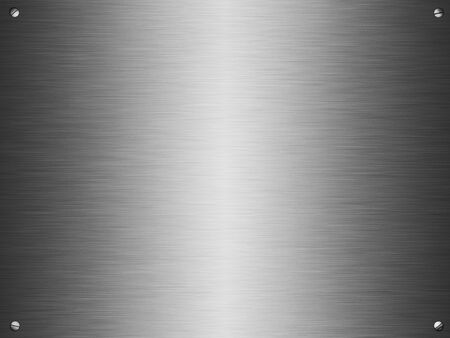 Brushed metal background Stock Photo - 9524368