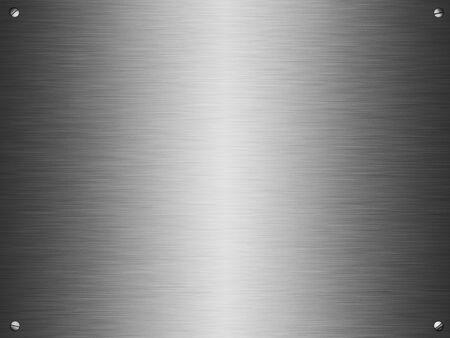 cromo: Fondo de metal pulido Foto de archivo