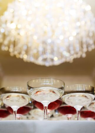 Wedding champagne photo